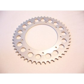 Bultaco Aluminium rear sprocket 48T link size 520, int diameter 140mm