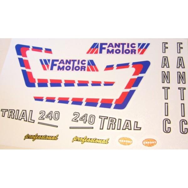 FANTIC 240 Stickers kit