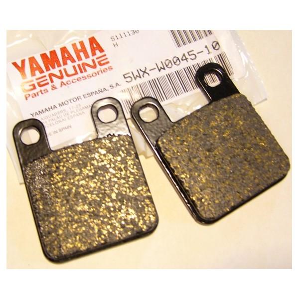 Yamaha TY 250 mono-amortisseurs plaquettes de frein Avt