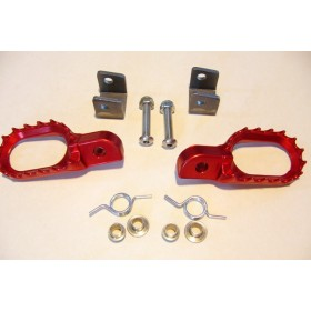 Alloy Folding footrest kit