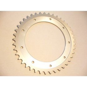 Bultaco Aluminium rear sprocket 42T link size 520, int diameter 140mm