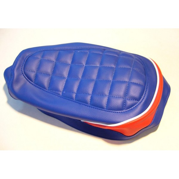Yamaha TY125 & 175 Blue & red seat cover
