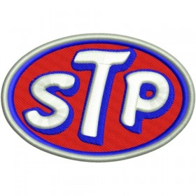 STP embroidered patch 10 x 7 cm