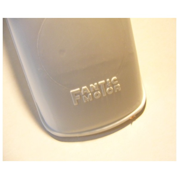 FANTIC  front white mudguard with logo as original