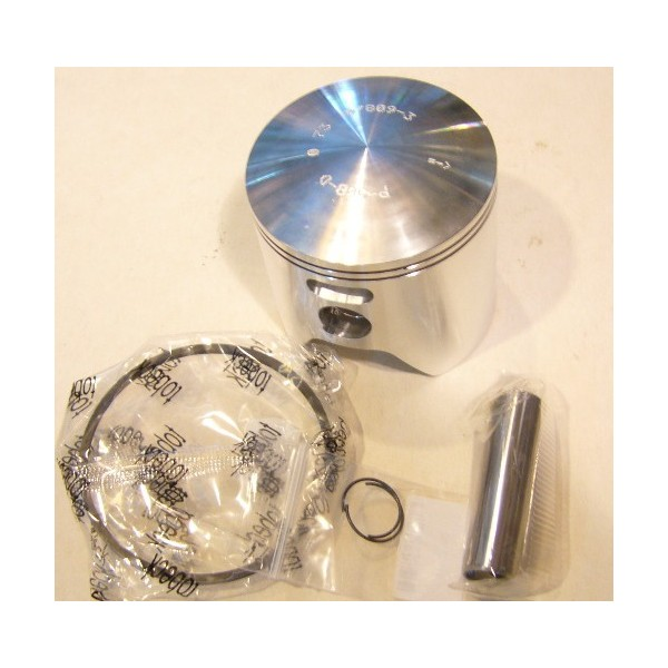 Montesa 247 piston with , clips and rings diam 73,5 mm