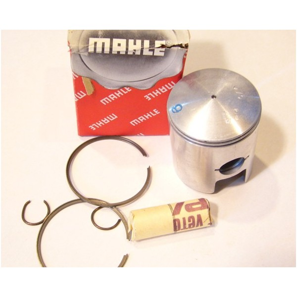 Bultaco Lobito 125cc piston with clips pin and rings diam 54.45 mm