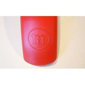 MONTESA Cota garde-boue avant rouge avec logo incrusté