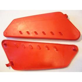 FANTIC125-200 paire de caches latéraux plastique injecté