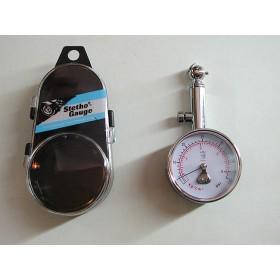Manomètre pression des pneus de poche