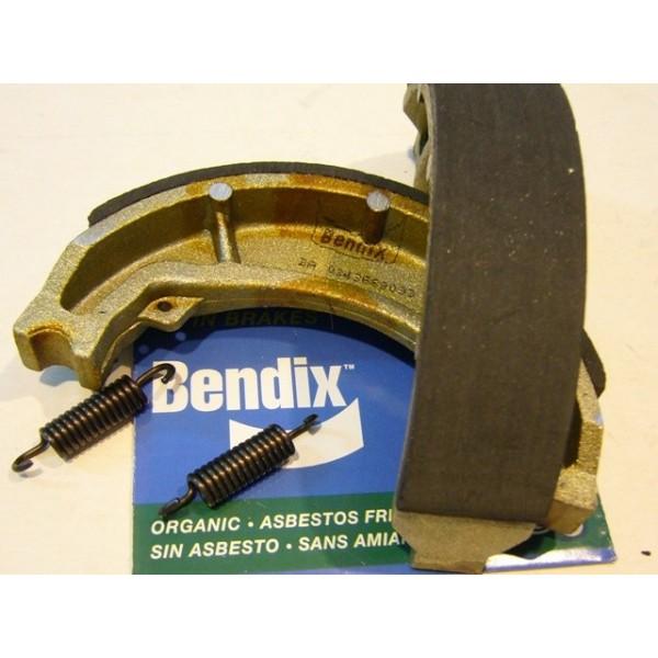 Yamaha TY 125, 175 & 250 rear  Bendix brake shoes