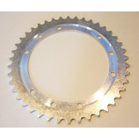 Bultaco Aluminium rear sprocket 42T link size 520, int diameter 146mm