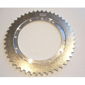 Bultaco Aluminium rear sprocket 46T link size 520, int diameter 146mm