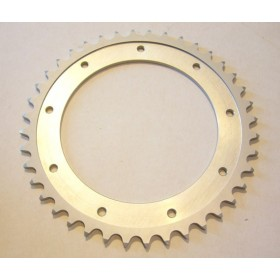 Bultaco Aluminium rear sprocket 40T link size 520, int diameter 140mm