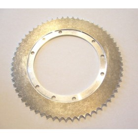 Bultaco Lobito 125 Aluminium rear sprocket 60T link size 428, int diameter 140mm