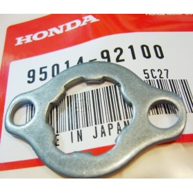 HONDA 125 to 250 TLS & TLR front sprocket fixing plate