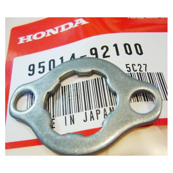 HONDA 125 to 250 TLS & TLR front sprocket fixing plate