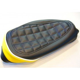 Yamaha TY125 & 175 black & yellow seat cover