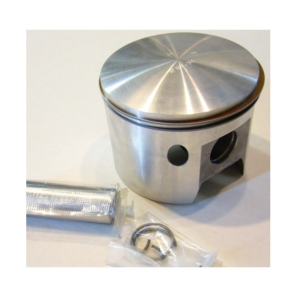 Bultaco 350 piston with clips pin and rings diam 84,45mm