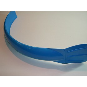 Universal blue front mudguard
