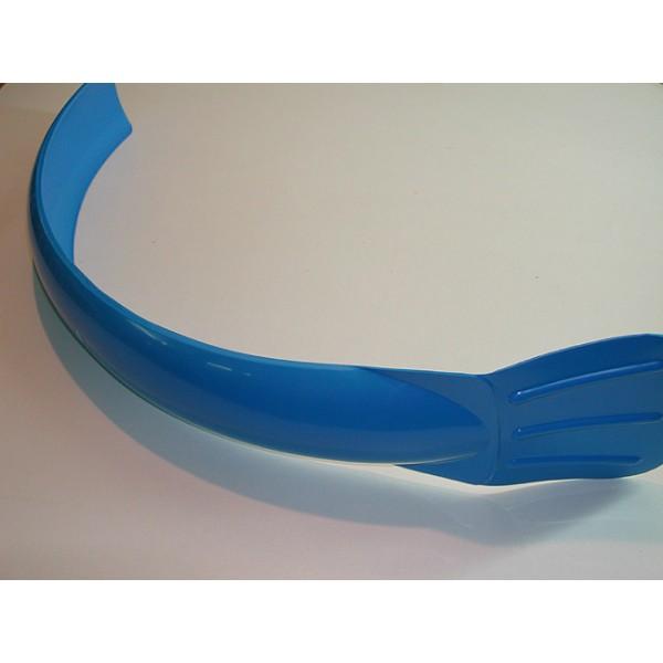 Universal blue front mudguard