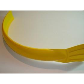 Garde-boue AVt universel jaune
