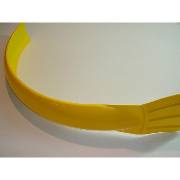 Universal yellow front mudguard