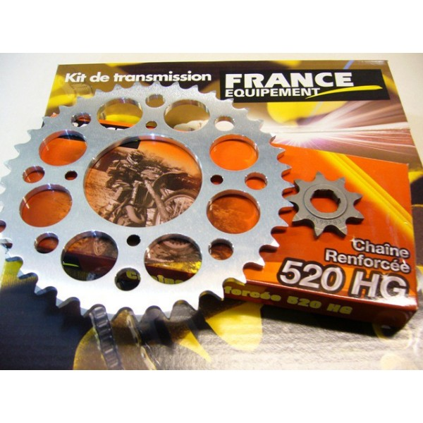 HONDA 250 TLR Kit transmission complet 9x39 dents en 520