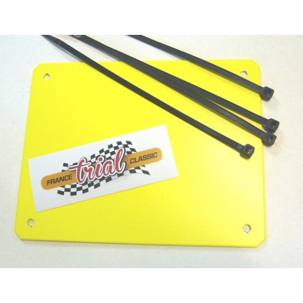 Alloy powder coated Yellow front plate