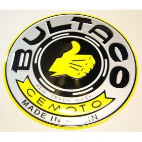 Aluminim BULTACO Plate