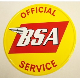 Plaque décorative BSA