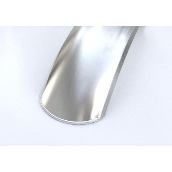 """Universal 18"""" rear aluminium mudguard (14cm large)"""