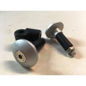 Handle bar pair of Alloy ferrules ( Anodised black )