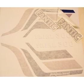 FANTIC 300 Pro Stickers kit