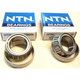 Bultaco & Montesa Taper rollers pair headbrace bearings (25x45x12)