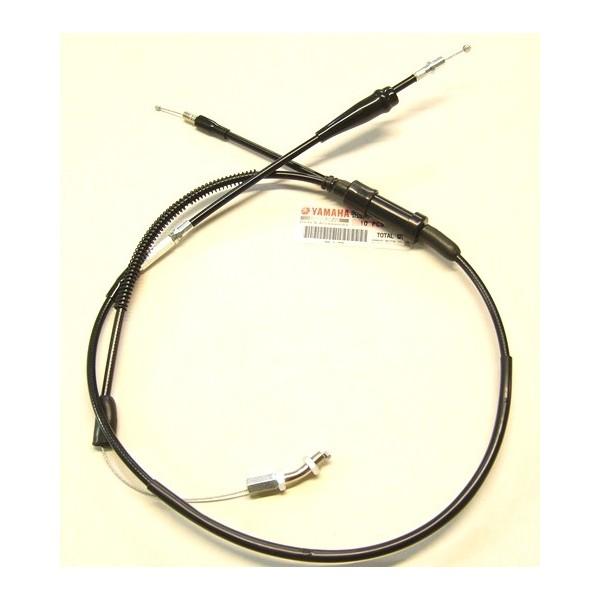 Yamaha TY 125, 175  (avec pompe à huile) câble d'accélérateur complet