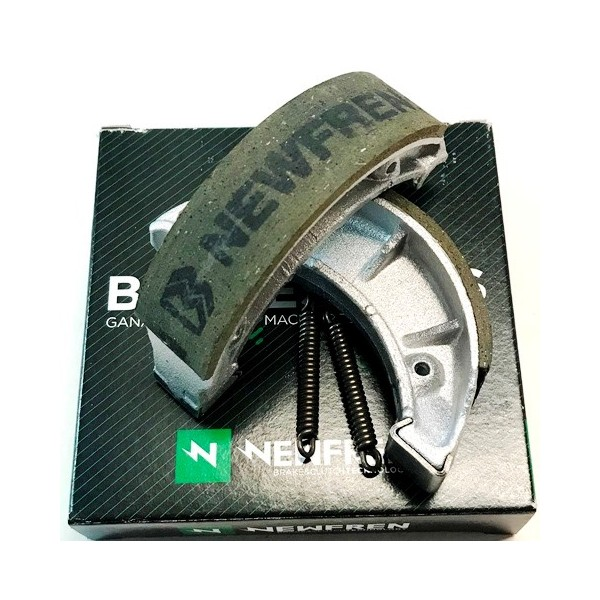 Ossa Gold & Abricot Front brake shoes
