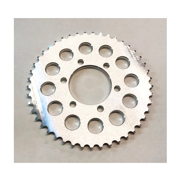 Yamaha TY 125, 175 & 250 twin shocks rear alloy 45T sprocket, link size 428