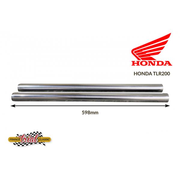Honda TLR 200 paire de tubes de fourche