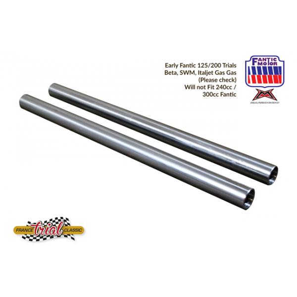 Fantic 125 (TX250) & 200 (TX350) Front fork tubes
