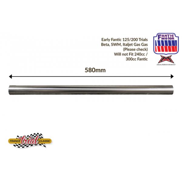 Fantic 125 (TX250) & 250 (TX350) paire de tubes de fourche