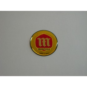 Montesa original relief tank sticker pair diameter 5.6 cm