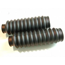 Paire de soufflets de fourche tubes 28 à 30mm long 20cm