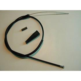 Yamaha TY 250 mono amortisseur câble d'accélérateur noir