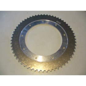Bultaco Sherpa 125T Aluminium rear sprocket 60T link size 428, int diameter 140mm