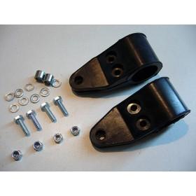 Universal front light holders (pair)