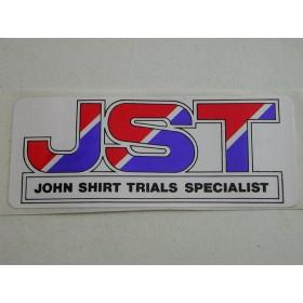 Yamaha John Shirt autocollant original (10X4cm)