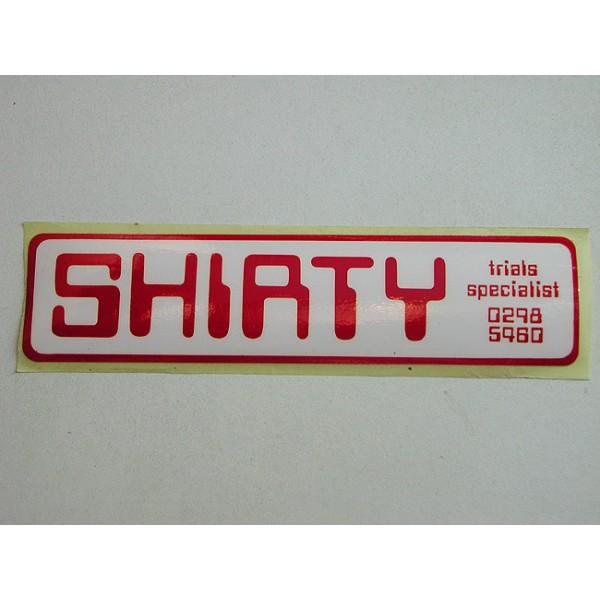 Yamaha original John Shirt sticker (17.7X4.3cm)