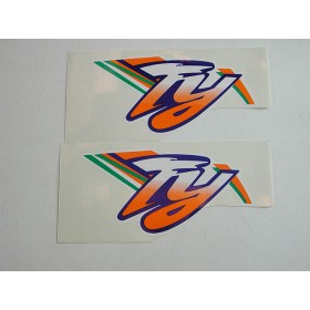 Yamaha original pair of monoshock stickers (15X7.5cm)