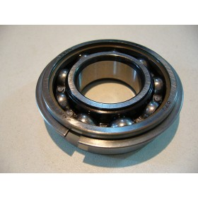 Bearing 25X52X15 with groove