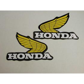 Honda TL paire d'autocollants de réservoir